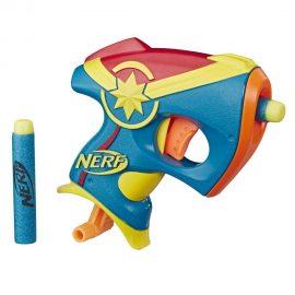 Captain Marvel пистолет Nerf Micro Shots E3004/E2931