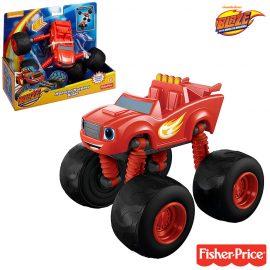 Трансформираща се чудовищна колаПламъчко и машините Monster Morpher Stripes Blaze and the Monster Machines Fisher-Price DGK60 Asst DGK59