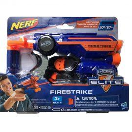 Нърф лазерен пистолет Nerf N-Strike Elite FIRESTRIKE 53378