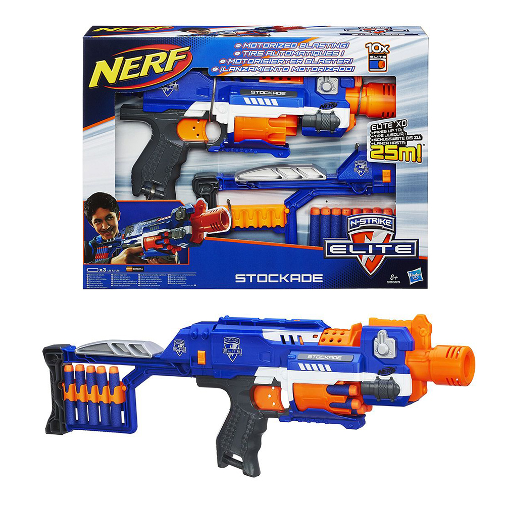 Nerf N-Strike Elite Stockade 98695