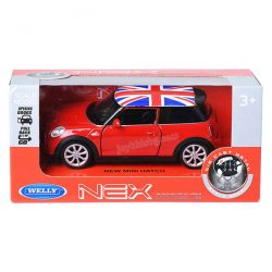 New Mini Hatch умален модел 1:34÷1:39 Welly