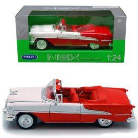 Oldsmobile Super 88 бяло/червено 1:24 Welly