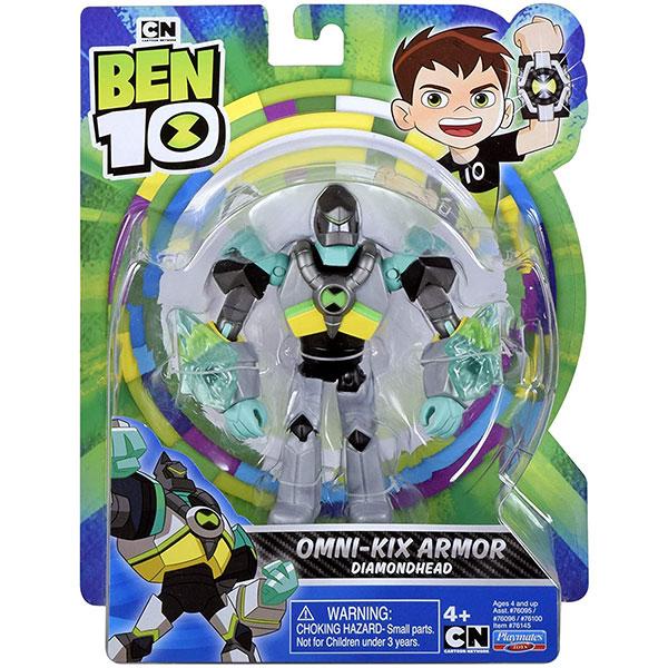 (Ben 10) Диамантена Глава с подобрена броня Omni-KIX armor Diamondhead76145
