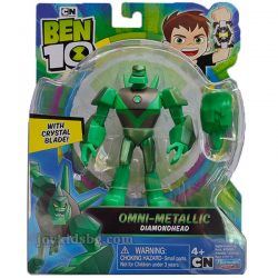 (Ben 10) Omni-Metallic Diamondhead (Диамантения) 76175