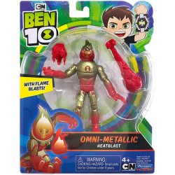 (Ben 10) Огнения - Omni-Metallic Heatblast 76173