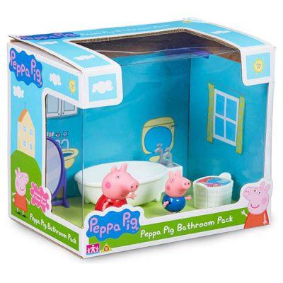 Баня на Пепа Peppa Pig Bathroom Pack