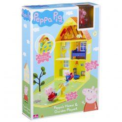 Домът на Пепа с градина - Peppa's Home & Garden Playset 06156