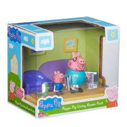 Дневна стая на Пепа Peppa Pig Living Room Pack