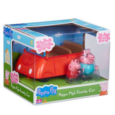 Peppa Pig, Татко Прасе и семейната кола със звук Peppa Pig's Family Car With Sound