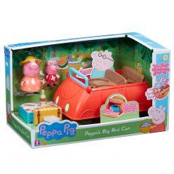 Голямата червена кола на Пепа - Peppa's Big Red Car 06921