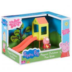 Peppa Pig с пързалка Peppa's Outdoor Fun Slide 06149