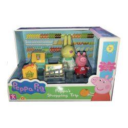 Peppa Pig пазарува Peppa's Shopping Trip