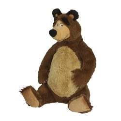 Plush Bear 50cm sitting - Masha and the Bear SIMBA 109309894