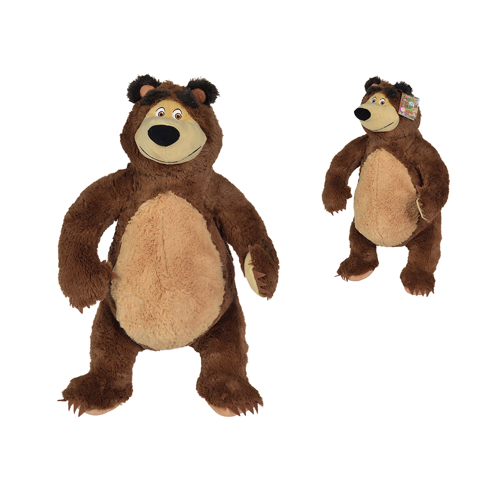 Plush Bear 50cm sitting Masha and the Bear SIMBA 109309894