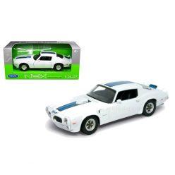 Pontiac Firebird Trans AM (1972) white 1to24 Welly