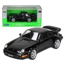 Porshe 911 Turbo 3.0 (1974) черно 1:24 Welly