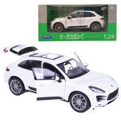 Porsche Macan Turbo бяло 1/24 Welly
