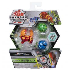 Hydorous, Dragonoid, Howlkor Bakugan Starter Pack AA 6055886/20122476