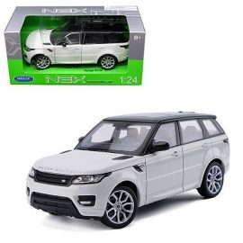 Range Rover Sport white 1:24 Welly