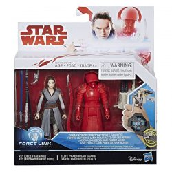 Rey (Jedi Training) and Elite Praetorian Guard Force Link  Star Wars The Last Jedi