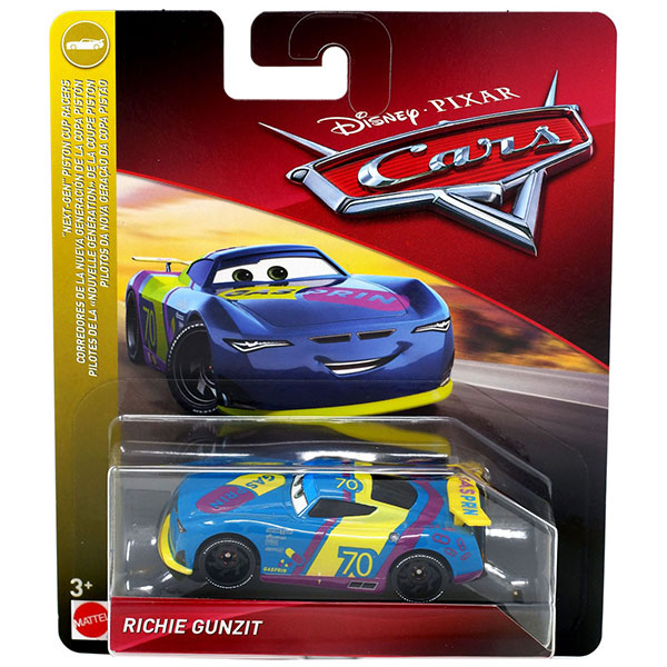 "Richie Gunzit - Disney / Pixar Cars ""NEXT-GEN"" PISTON CUP RACERS"