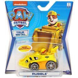Ръбъл с метална кола Paw Patrol Rubble True Metal 6053257
