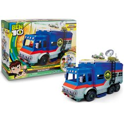 (Ben 10) Каравана - извънземна база Ben 10 Rustbucket Deluxe Vehicle Transforming Playset 7767E