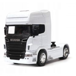 Scania V8 R730 влекач бял 1:32 Welly