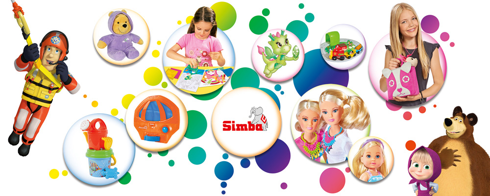 Simba Toys banner