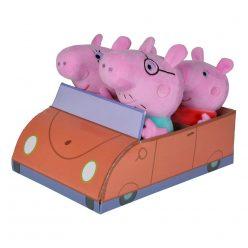 Peppa Pig плюшено семейство в кола Simba 109261006