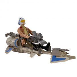 Speeder Bike & Poe Dameron 29см игрален комплект Star Wars B3918/B3917