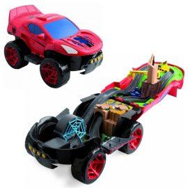 Spiderman трансформираща се кола ⇔ писта Spiderman Playset CarIMC 550735