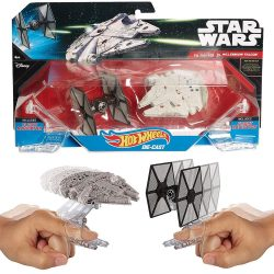 TIE Fighter vs. Millennium Falcon Star Wars Hot Wheels