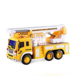 Камион с платформа 26см със звук 1:16 City Service Builder 170A188