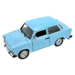 Trabant 601 светло син 1:24 Welly 24037W