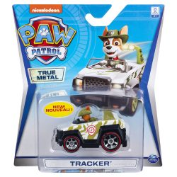 Тракер с метална кола Paw Patrol Tracker True Metal 6053257