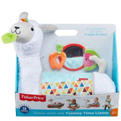Плюшена Лама Tummy-Time-Llama Fisher Price FXC36