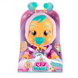Плачещо бебе Cry Babies Violet IMC 81826