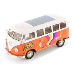 Volkswagen T1 Bus 1963 hippie Welly 1:24