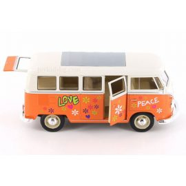Volkswagen T1 Bus 1963 hippie Welly 1:24