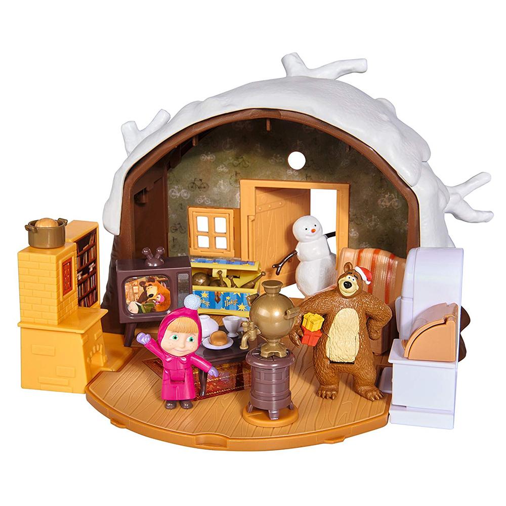 Winter Bear House Playset