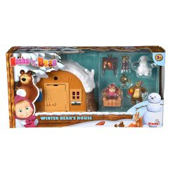 Winter Bear House Playset box
