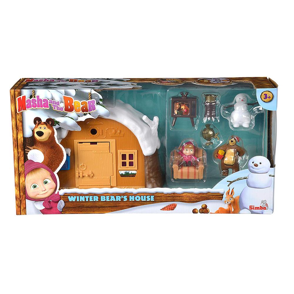 Winter Bear House Playset box