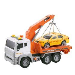 "Камион 'Паяк"" с кран и кола 32cm City 1:12 Service ZY947301-WY831C"