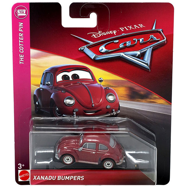 Xanadu Bumpers - Disney / Pixar Cars The Cotter Pin